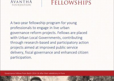 Avantha Governance Fellowship
