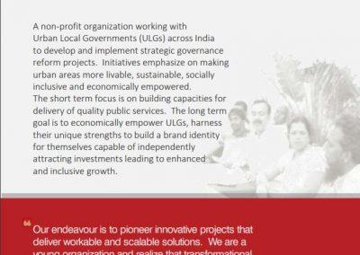 Avantha Urban Innovation Program