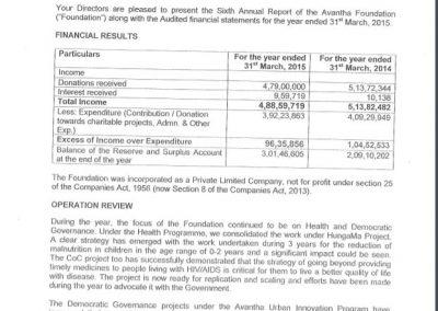 Directors' Report 2014-15